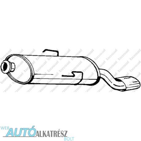 Citroen Saxo Hatchback 1.4i, 1.6i, 1.5 Diesel hátsó